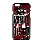 Panic At The Disco Poster Apple iPhone 6/6S Black Enamel Case Front