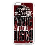 Panic At The Disco Poster Apple iPhone 6 Plus/6S Plus Enamel White Case Front
