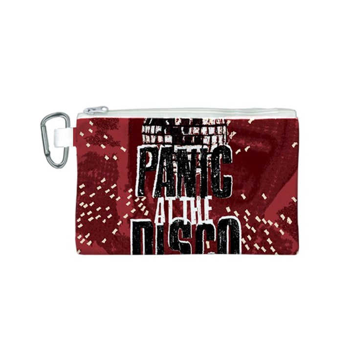 Panic At The Disco Poster Canvas Cosmetic Bag (S)