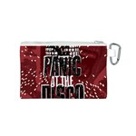 Panic At The Disco Poster Canvas Cosmetic Bag (S) Back