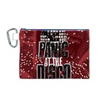 Panic At The Disco Poster Canvas Cosmetic Bag (M) Front