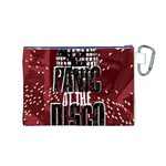 Panic At The Disco Poster Canvas Cosmetic Bag (M) Back