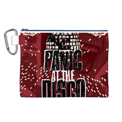 Panic At The Disco Poster Canvas Cosmetic Bag (L)