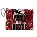 Panic At The Disco Poster Canvas Cosmetic Bag (XL) Front