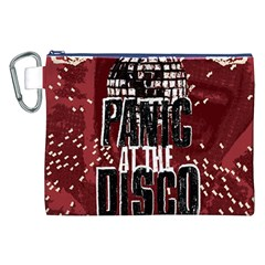 Panic At The Disco Poster Canvas Cosmetic Bag (XXL)