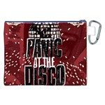 Panic At The Disco Poster Canvas Cosmetic Bag (XXL) Back