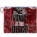 Panic At The Disco Poster Canvas Cosmetic Bag (XXXL) Front