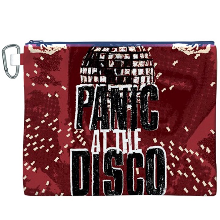 Panic At The Disco Poster Canvas Cosmetic Bag (XXXL)