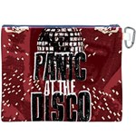 Panic At The Disco Poster Canvas Cosmetic Bag (XXXL) Back