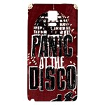 Panic At The Disco Poster Galaxy Note 4 Back Case Front