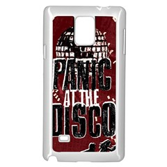 Panic At The Disco Poster Samsung Galaxy Note 4 Case (white)