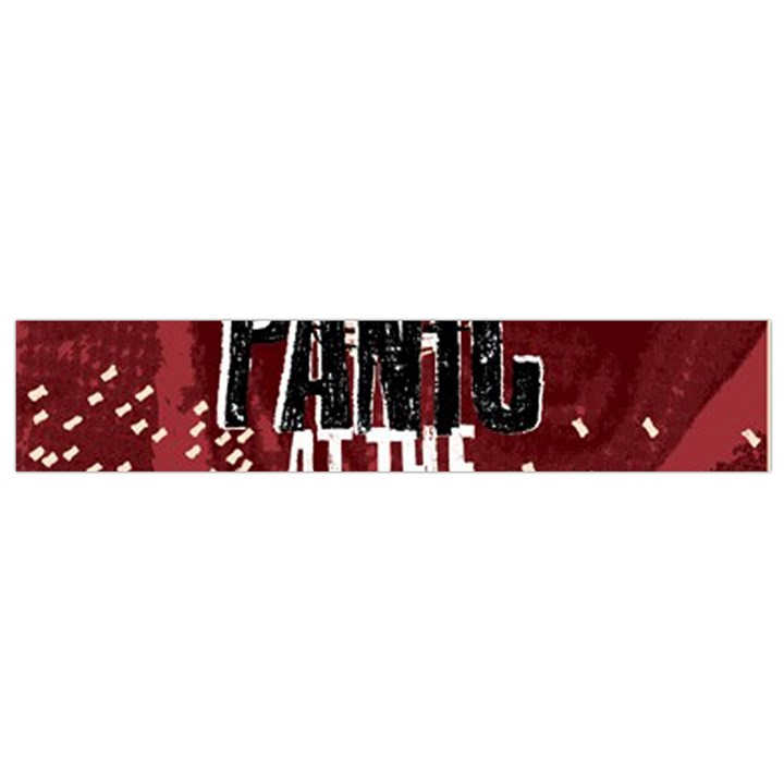 Panic At The Disco Poster Flano Scarf (Small)