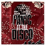 Panic At The Disco Poster Large Satin Scarf (Square) Front
