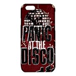 Panic At The Disco Poster iPhone 6/6S TPU Case Front