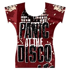 Panic At The Disco Poster Women s Cap Sleeve Top
