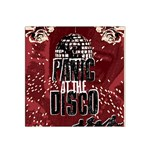 Panic At The Disco Poster Satin Bandana Scarf Front