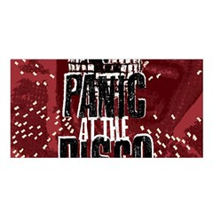 Panic At The Disco Poster Satin Shawl