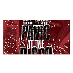 Panic At The Disco Poster Satin Shawl Front