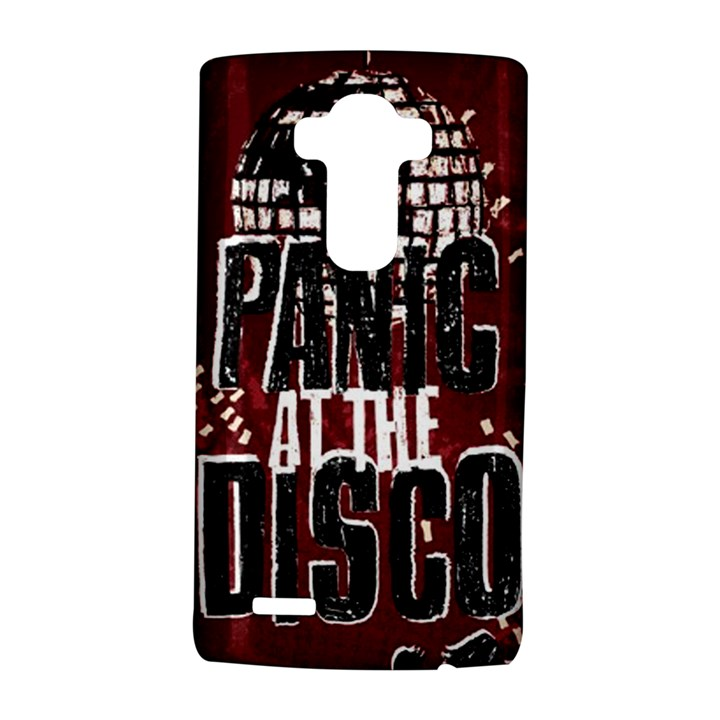 Panic At The Disco Poster LG G4 Hardshell Case