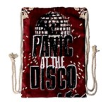Panic At The Disco Poster Drawstring Bag (Large) Front
