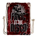 Panic At The Disco Poster Drawstring Bag (Large) Back