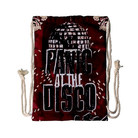 Panic At The Disco Poster Drawstring Bag (Small)