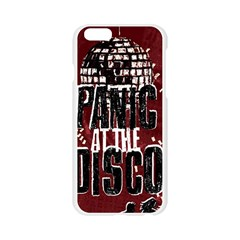 Panic At The Disco Poster Apple Seamless iPhone 6/6S Case (Transparent)