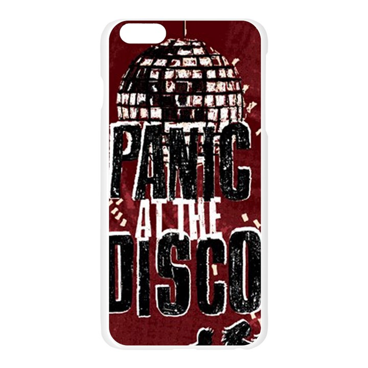 Panic At The Disco Poster Apple Seamless iPhone 6 Plus/6S Plus Case (Transparent)