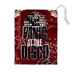 Panic At The Disco Poster Drawstring Pouches (Extra Large)
