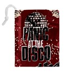 Panic At The Disco Poster Drawstring Pouches (Extra Large) Back