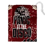 Panic At The Disco Poster Drawstring Pouches (XXL) Front
