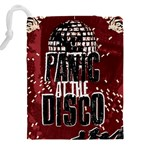 Panic At The Disco Poster Drawstring Pouches (XXL) Back