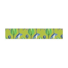 Tropical Floral Pattern Flano Scarf (Mini)