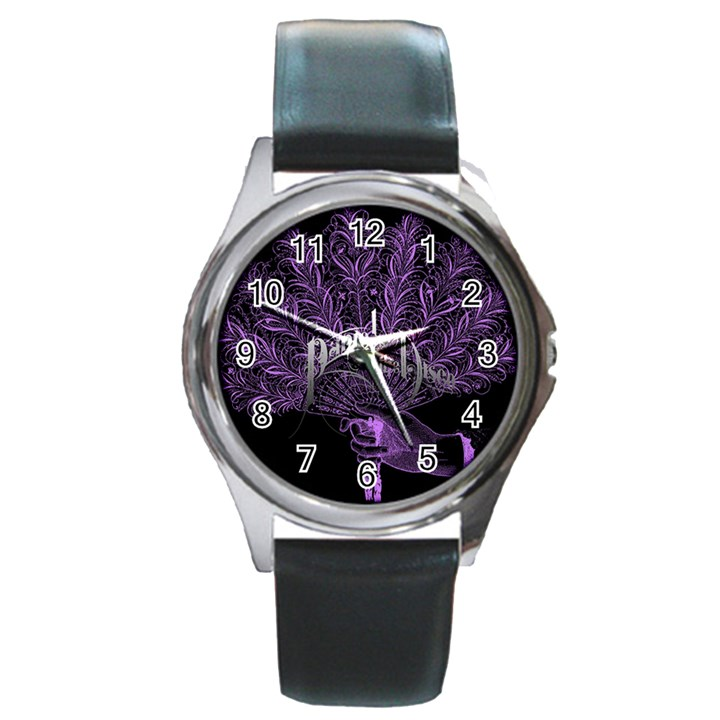 Panic At The Disco Round Metal Watch