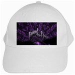 Panic At The Disco White Cap Front