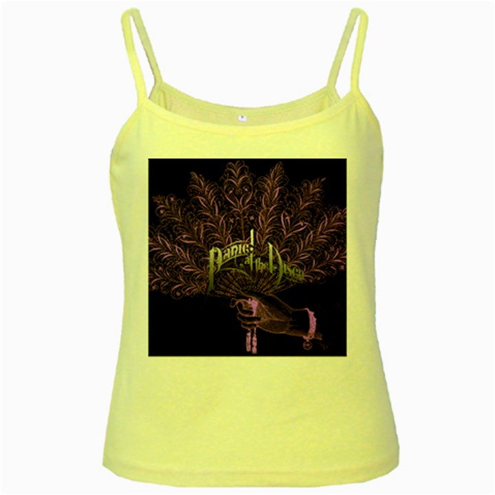 Panic At The Disco Yellow Spaghetti Tank