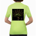 Panic At The Disco Women s Green T-Shirt Back