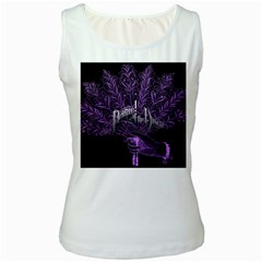 Panic At The Disco Women s White Tank Top