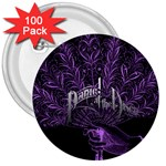Panic At The Disco 3  Buttons (100 pack)  Front