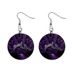 Panic At The Disco Mini Button Earrings Front