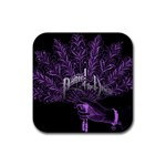 Panic At The Disco Rubber Square Coaster (4 pack)  Front
