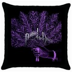 Panic At The Disco Throw Pillow Case (Black) Front