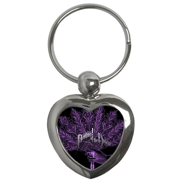 Panic At The Disco Key Chains (Heart)