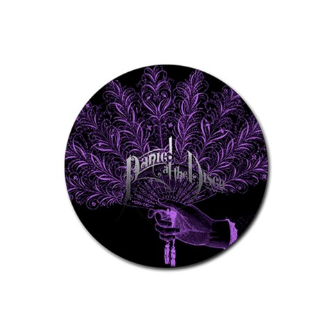 Panic At The Disco Rubber Round Coaster (4 pack)