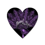 Panic At The Disco Heart Magnet Front