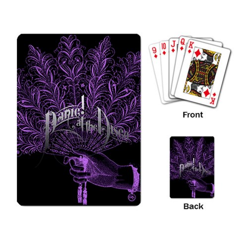 Panic At The Disco Playing Card