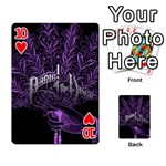 Panic At The Disco Playing Cards 54 Designs  Front - Heart10