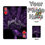 Panic At The Disco Playing Cards 54 Designs  Front - HeartK