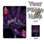 Panic At The Disco Playing Cards 54 Designs  Front - HeartA