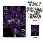 Panic At The Disco Playing Cards 54 Designs  Front - Spade5